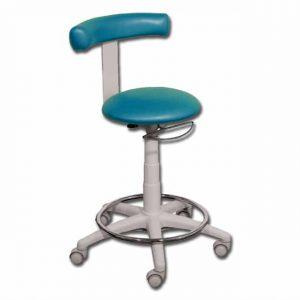 Undersökningsstol med ring - Sea blue