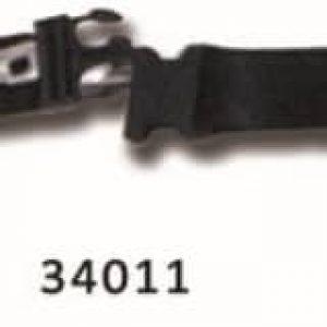 Säkerhetsbälte med snabbfäste - Spineboard med metallstift