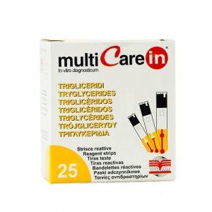 Triglyceridmätning Stickor MultiCare IN 25st
