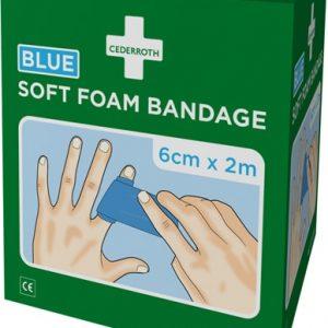 Självhäftande plåster och bandage utan klister (Blå)