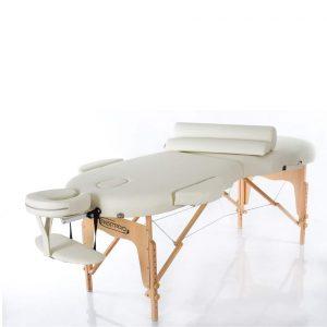 Oval Massagebänk i väska - VIP OVAL 2 (GRÄDDFÄRGAD)