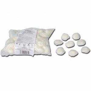 Bomullsbollar - Ø 30 mm - 100 st