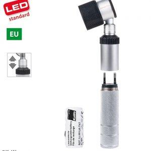 Dermatoskop EUROLIGHT D30 LED med laddningsbart batteri