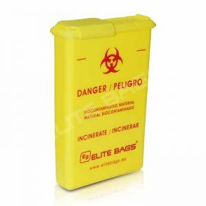 Behållare för kontaminerade produkter