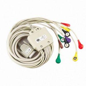 EKG-Kabel Tryckknapp