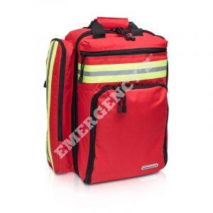 Ryggsäck Emergencys för avancerad sjukvård(Röd)