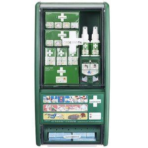 First Aid & Burn Station