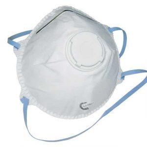 Ansiktsmask FFP2 med ventil 10-pack