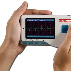Handhållen EKG-apparat Cardio-B med färgskärm