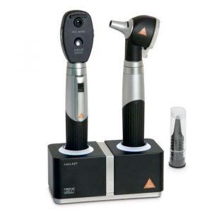 HEINE Mini 3000 F.O. Otoskop + Oftalmoskop + Batterier + Laddare