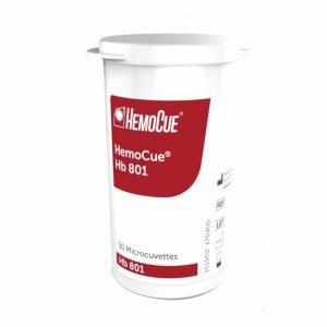 HemoCue Hb 801 Mikrokuvetter Burk 50st
