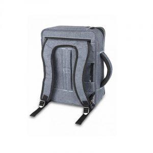 visar Hemsjukvårdväska Streets(Grå/Blå) som ryggsäck