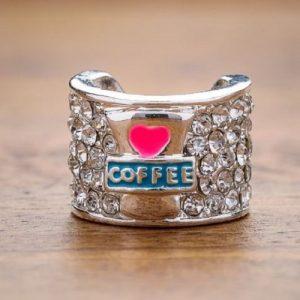 Stetoskopsmycke - Kaffe