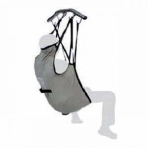 Lyftsele med hög rygg