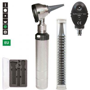 Oftalmoskop och Otoskop Eurolight F.O. 30 och E36