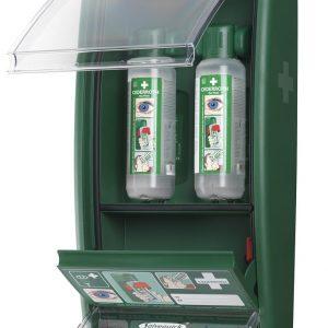 Ögondusch-station Cederroth med plåsterautomat