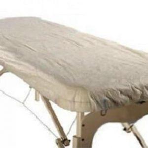 Skydd för massagebänk