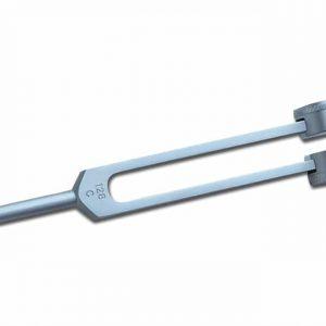 Stämgaffel Aluminium 128 Hz Med Dämpare