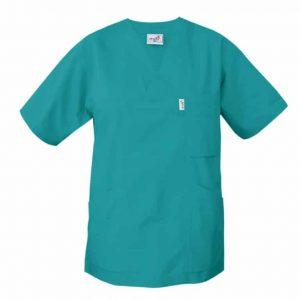 Tunika för vården V-ringad